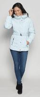 Womens Stunning Faux Down Padded Light Blue Jacket db630